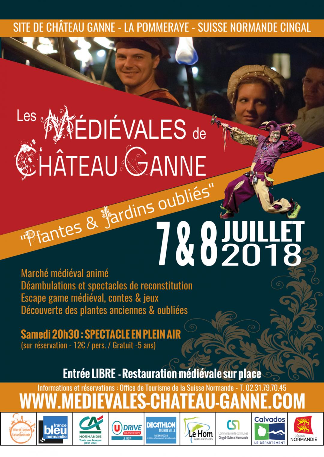 Fêtes médiévales de Château Ganne